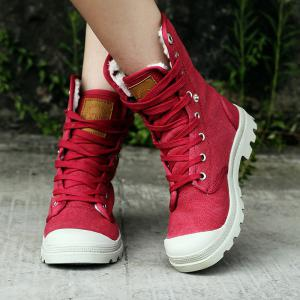 Canvas Boots Leisure Shoes Shoes Baotou Cowboy Shoes Winter Boots -