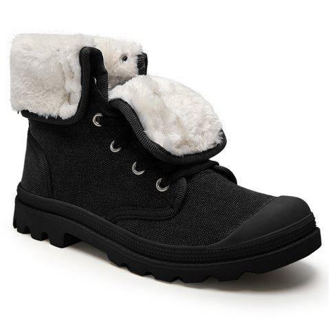 Fashion Canvas Boots Leisure Shoes Shoes Baotou Cowboy Shoes Winter Boots