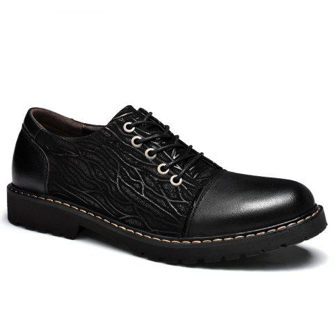 Chic Personality Dress Shoes The Fall of Leather Shoes Leather Casual Shoes Big Leather Shoes