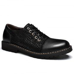 Chaussures habillées de personnalité The Fall of Leather Shoes Chaussures de sport en cuir Big Leather Shoes -