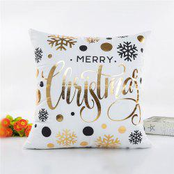 Christmas Decoration Pillowcase Snowflake Pillow Cover -