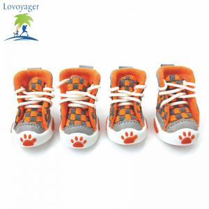 Lovoyager VSE14001 Nouveau classique Casual toile petit chien chaussures Sport Styles antidérapant Chihuahua Pet Booties -