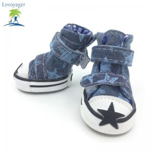 Lovoyager VSE15002 Casual Chaussures pour animaux de compagnie Star Print Antidérapant Sneakers Bottes respirantes pour chiots -