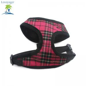 Lovoyager LVC1705 Soft Mesh Breathable Pet Dog Harness Vest and Adjustable Collar -