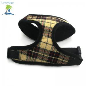 Lovoyager LVC1705 Soft Mesh Breathable Pet Dog Harness Vest and Adjustable Collar - YELLOW XL (90)
