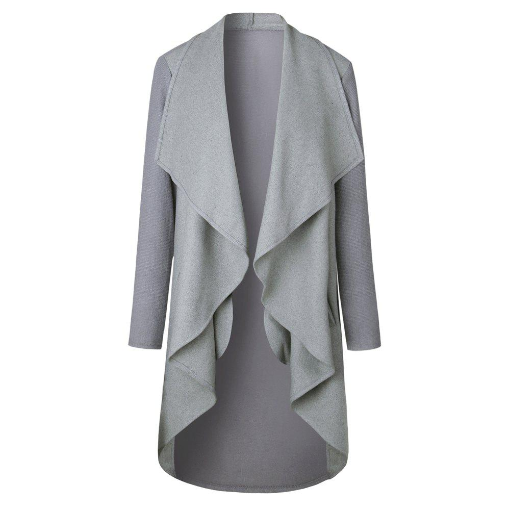 Sale 2017 New Autumn/Winter Long Style Cardigan Jacket
