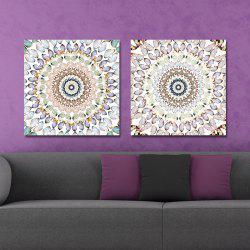 DYC 10163 2PCS Butterflies Print Art Ready to Hang Paintings -