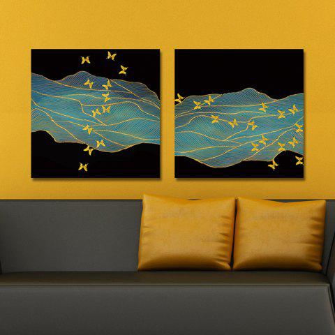 New DYC 10165 2PCS Abstract Print Art Ready to Hang Paintings