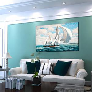 Hua Tuo Sailing Oil Painting 60 x 90CM OSR - 160318 -