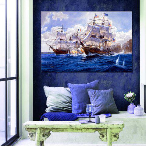 Trendy Hua Tuo Sailing Oil Painting 60 x 90CM OSR - 160319