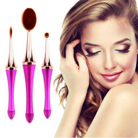 Buy GANJOY-Three Pack Toothbrush Cosmetic Brush New High-End Touch Paint - ROSE GOLD  Mobile