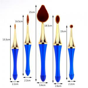 GANJOY-Five Pack Toothbrush Cosmetic Brush New High-End Touch Paint -