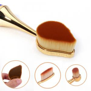 GANJOY- Nine Pack Toothbrush Cosmetic Brush New High-End Touch Paint - BLUE AND GOLDEN