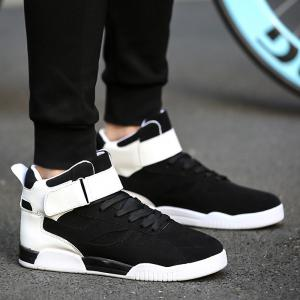 Canvas Shoes Casual Board Shoes High To Help Sports Shoes Fall Trend Students Wild -