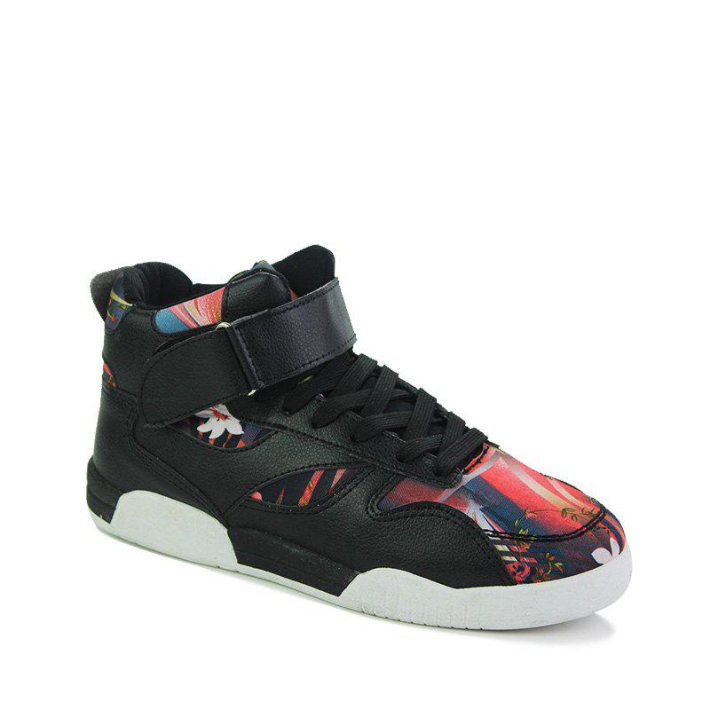 Online Canvas Shoes Casual Board Shoes High To Help Sports Shoes Fall Trend Students Wild