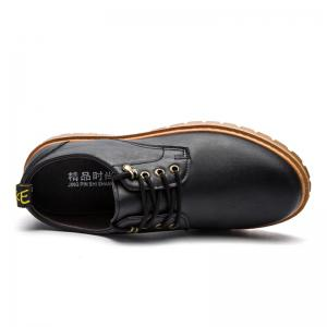 Fall British Boots Men Casual Shoes Breathable Board Shoes Boots Martin Boots - BLACK 40