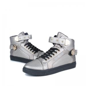 Autumn and Winter High Heel Men'S Shoes Trendy Running Shoes -