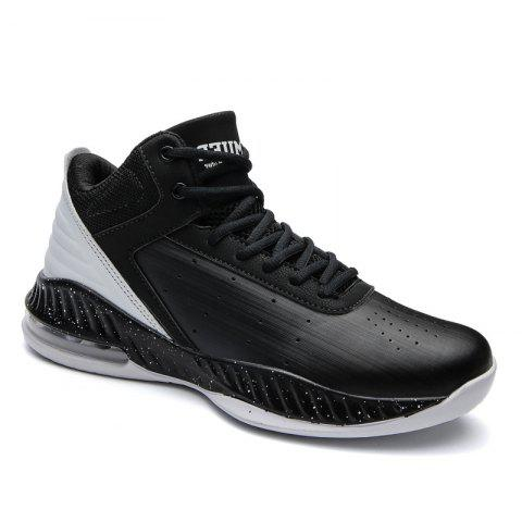 Online Men'S Shoes Autumn Shoes 2017 New Running Shoes Wild Height Men'S Casual Shoes Sports Shoes - 41 BLACK Mobile