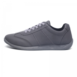 Fall Men'S Casual Shoes Sports Shoes Plate Shoes Student Shoes - GRAY 40