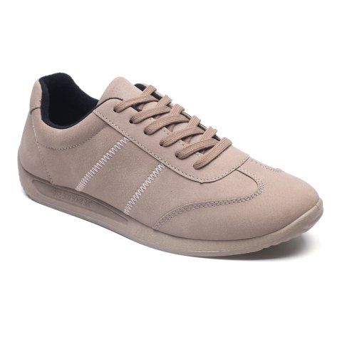 Sale Fall Men'S Casual Shoes Sports Shoes Plate Shoes Student Shoes BROWN 44