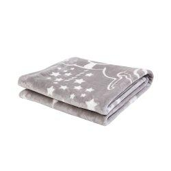 IBaby Soft Baby Girls Boys Cozy Mink Blanket -