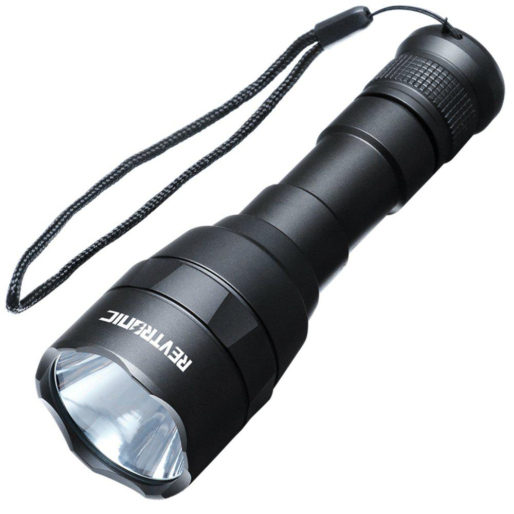 Revtronic F30B XM - L2 800LM LED FlashlightHOME<br><br>Color: BLACK; Brand: Revtronic; Model: F30B; Flashlight Type: Handheld,POWERFUL,Tactical; Flashlight size: EDC,Full Size,Mid size; Emitters: XM-L L2; Emitters Quantity: 1; Lumens Range: 500-1000Lumens; Luminous Flux: 800LM; Feature: Compact,Dual Springs,Lightweight,Portable,Seal Ring,Strong; Function: Alert,Army,Backpacking,Bike,Camping,Cop,Diving/boating,EDC,Emergency,Exploring,Fishing,Hiking,Household Use,Hunting,Law Enforcement,Military and Tactical,Night Riding,Police,Rescue,Search,Seeking Survival,Self-defense,Walking,Work; Switch Location: Tail Cap; Power Source: Battery; Battery Type: 18650; Battery Quantity: 1; Battery Included or Not: No; Rechargeable: No; Waterproof Standard: IPX-7 Standard Waterproof; LED Lifespan: 50000hours;
