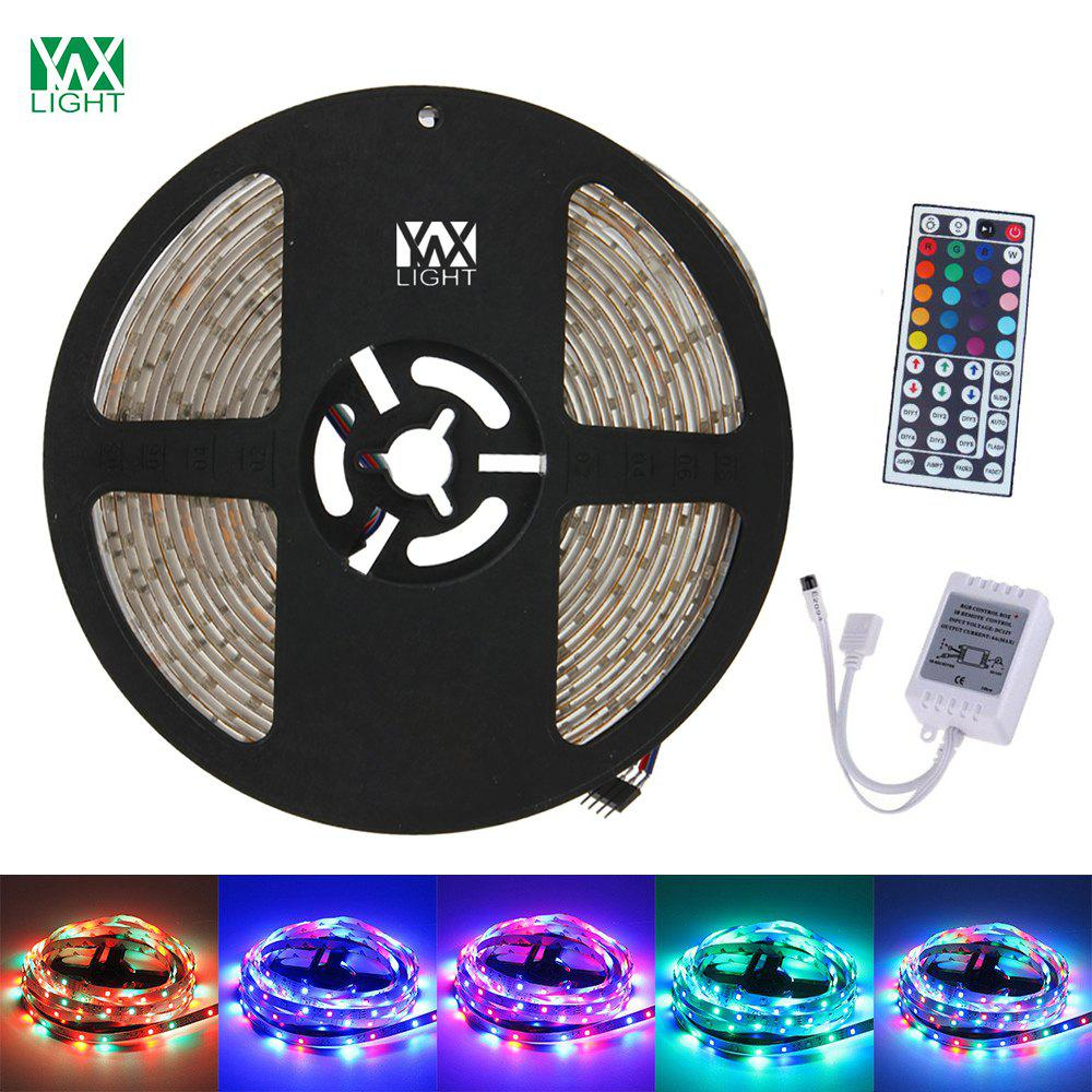 YWXLight 5M 300LED 3528SMD Waterproof 44Key Remote Control Flexible LED Light Strips ( DC 12V)HOME<br><br>Color: RGB;