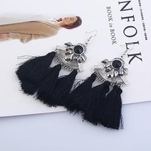 Fashion Jewelry and Diamond Earrings - BLACK