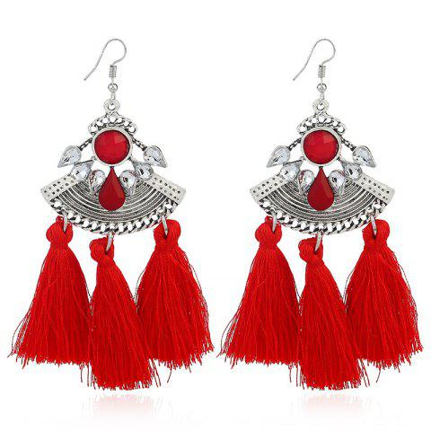 Online Fashion Jewelry and Diamond Earrings RED