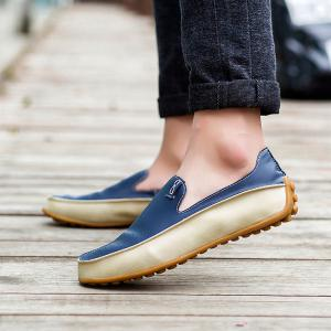 Autumn Summer New Casual Shoes Men Outdoor Driving Peas Shoes -