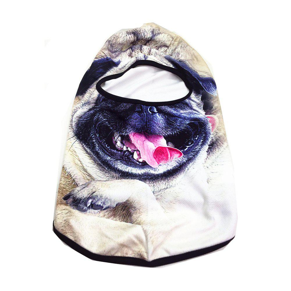Creative Personality Outdoor Mask for Animal Sports UnisexACCESSORIES<br><br>Size: 1PC; Color: WHITE AND BLACK;