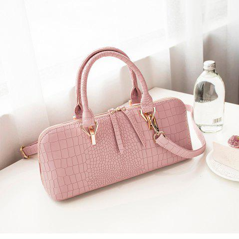 Cheap Women's Handbag Solid Color Stone Shaped Line Multifunctional Stylish Bag