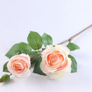 3 Head Silk Rose Home Decoration Artificial Flower 65CM -