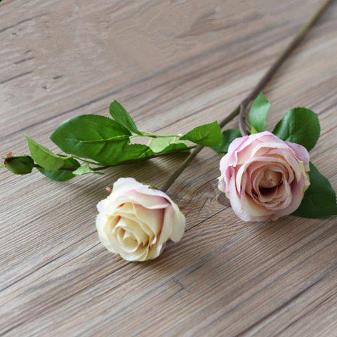 Hot 3 Head Silk Rose Home Decoration Artificial Flower 65CM