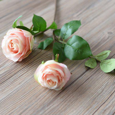 New 3 Head Silk Rose Home Decoration Artificial Flower 65CM