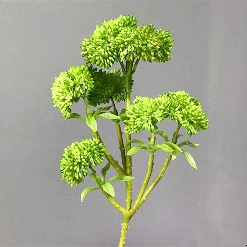 XM Broccoli Home Décoration Fleur artificielle 34CM