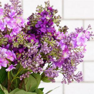 XM High Simulation Lilac Home Decoration Artificial Flower 70CM -