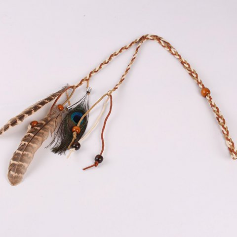 Hot Indian Feather Hair Band Feather Headdress European and American Popular Hair Ornaments 1 Piece