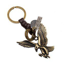 Fashion Bronze Eagle Wings Key Chain -