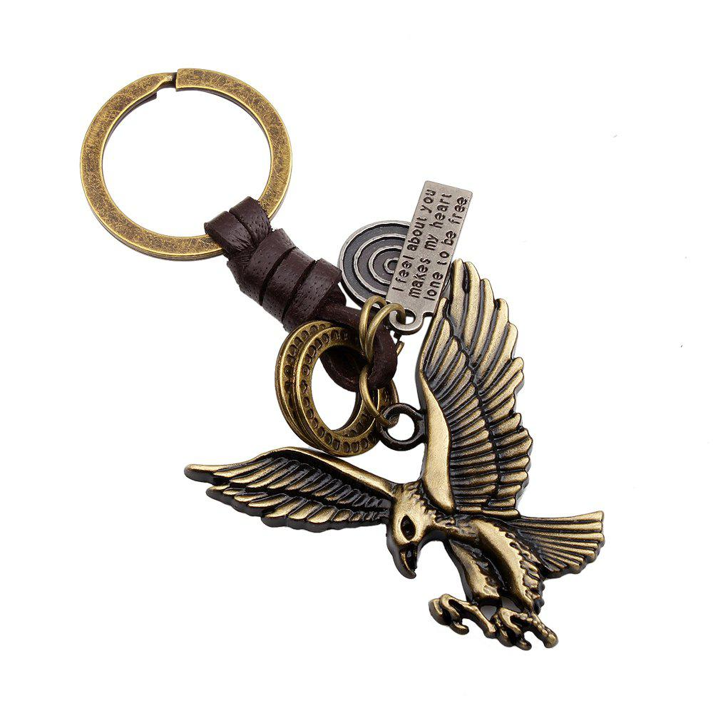 Outfits Fashion Bronze Eagle Wings Key Chain