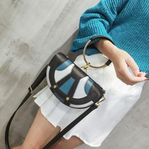New Tide Ring Small Bag Personality Fashion Single Shoulder Bag Handbag -