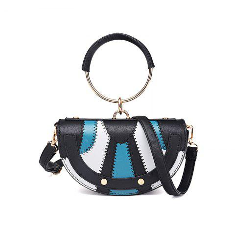 Discount New Tide Ring Small Bag Personality Fashion Single Shoulder Bag Handbag