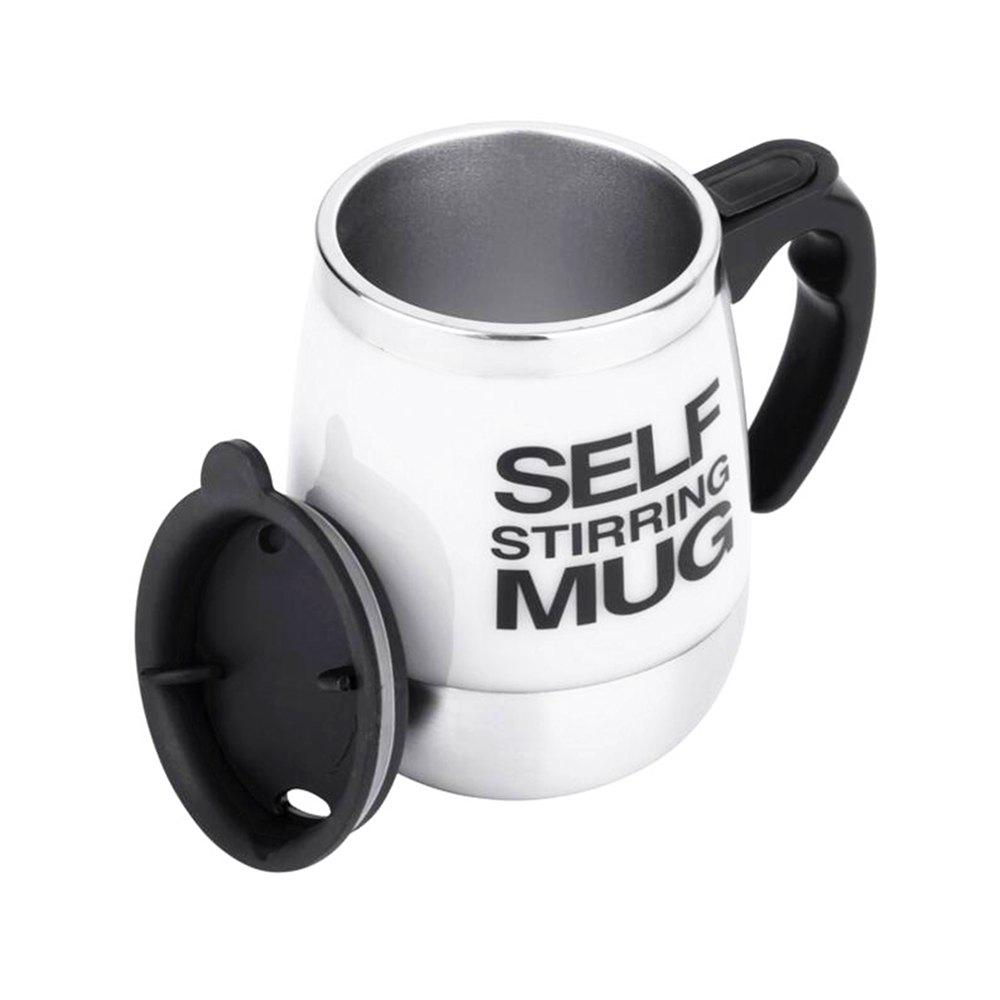 Outfit Stainless Steel Electric Automatic Shaker Milk Coffee Mix Bottle