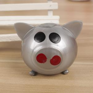 1PCS Creative Vent Toys Spoof Strange Water Eggs Pig Stress Reliever -