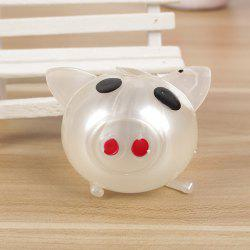 1PC Creative Vent Toys Spoof Strange Water Eggs Pig Stress Reliever -