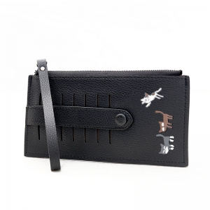 8021 Embroidery Card Pack High Quality Ladies Wallet -