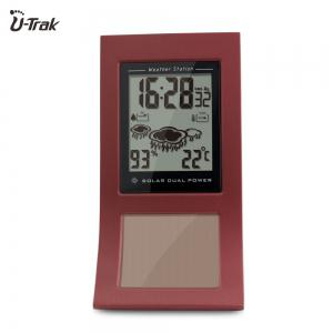 Eco Dual Battery and Solar Power Weather Station for Home -