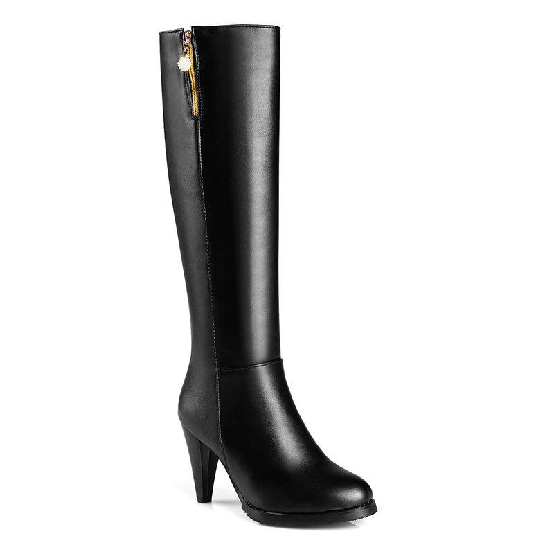6dee5270d63e2 40% OFF] Autumn And Winter New Fashion Style Ladies Long Boots | Rosegal