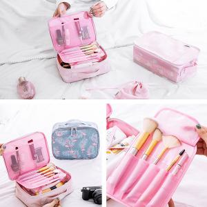 Travel Storage Bag Portable Durable Large Capacity Makeup Bag -
