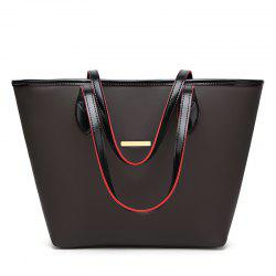 Fashion Simple Tote Bag Casual Handbag with A Large Bag -